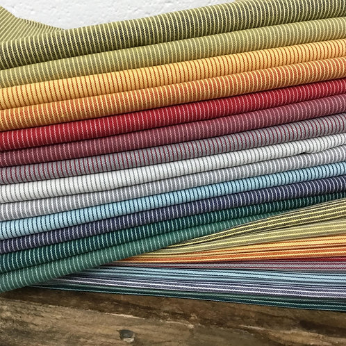 Woven Shot Stripe 12 x Fat 1/4 Lucky Dip Bundle