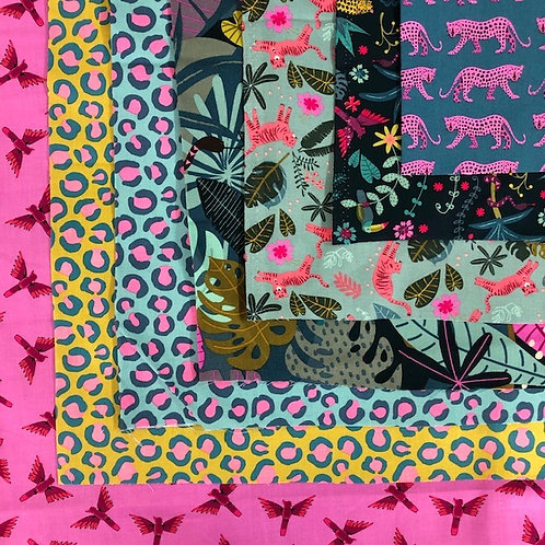 Night Jungle 7 x Fat Quarter Bundle