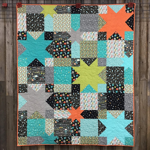 Super Fred Quilt Kit