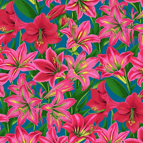 Kaffe Fassett Collective - Amaryllis Red $30 pm