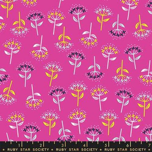 Adorn - Zip Bloom Flowers Berry $28 pm