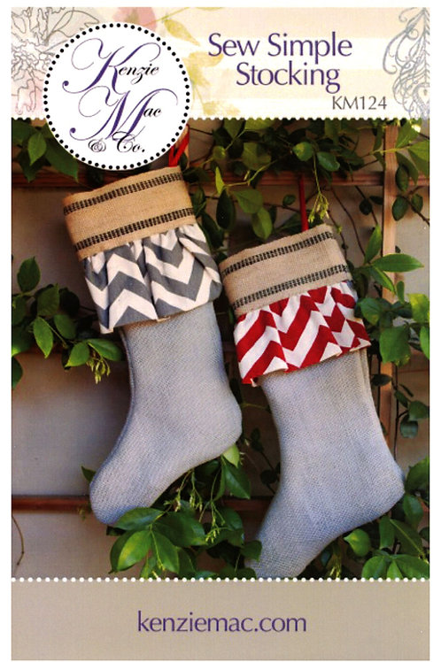 Sew Simple Stocking Pattern