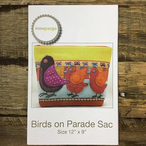 Birds On Parade Sac Pattern