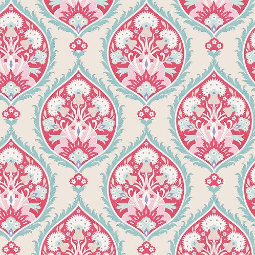 Tilda Bon Voyage - Flowerleaf Red $28 pm