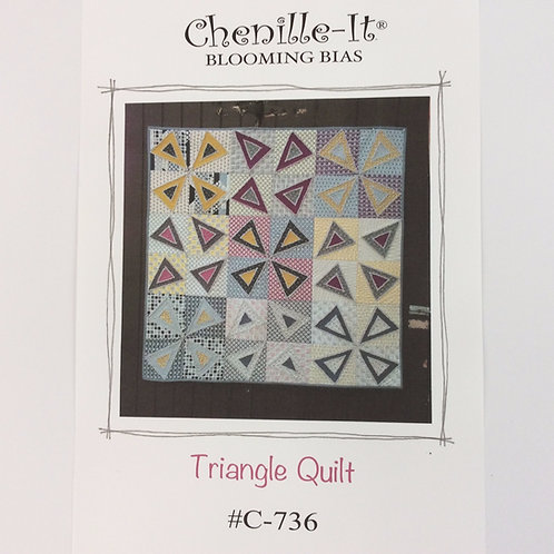Chenille-It -Triangle Quilt Pattern