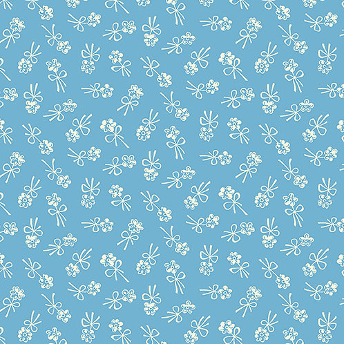 Darling Clementine - Blossom Bows Blue $28 pm
