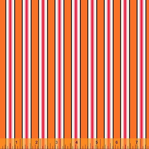 Five + Ten - Candy Stripe Orange $30 pm