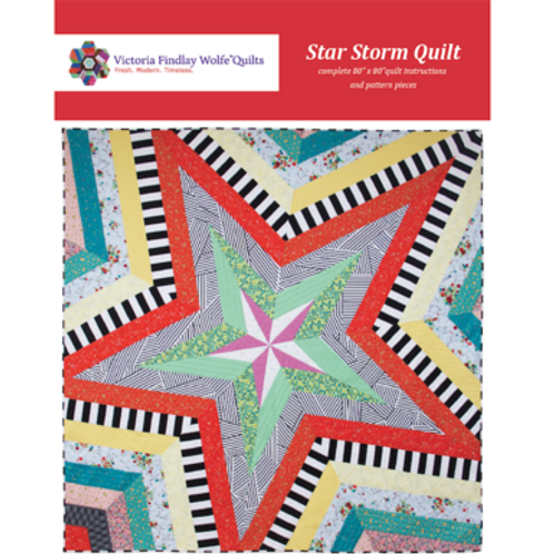 Star Storm Quilt Pattern