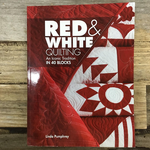 Red and White Quilting