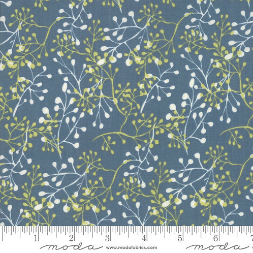Painted Meadow - Little Sprigs Teal $28 pm