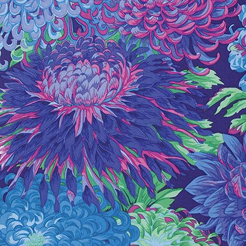 FassettKaffe Fassett Classics - Japanese Chrysanthemum Blue