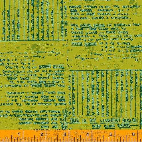 Norma Rose - Recipe Cards Acid Green$30 pm