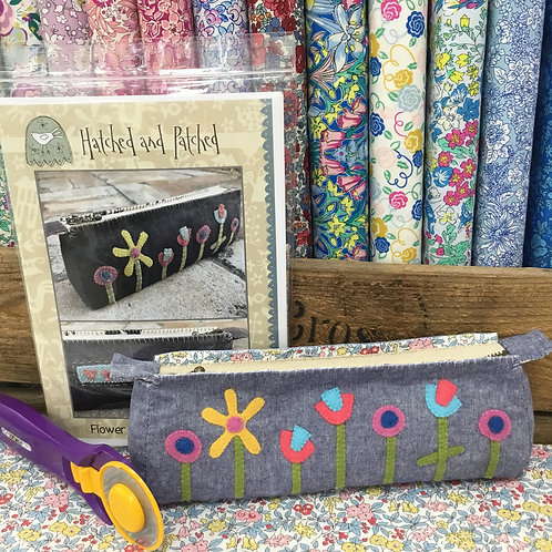 Flower Garden Pencil Case Kit