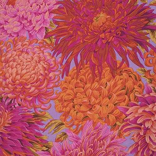 Kaffe Fassett Collective - Japanese Chrysanthemum Pink $30pm