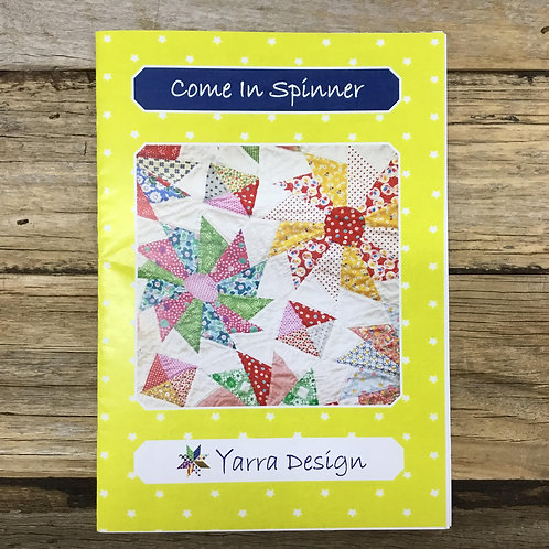 Comer In Spinner Quilt Pattern