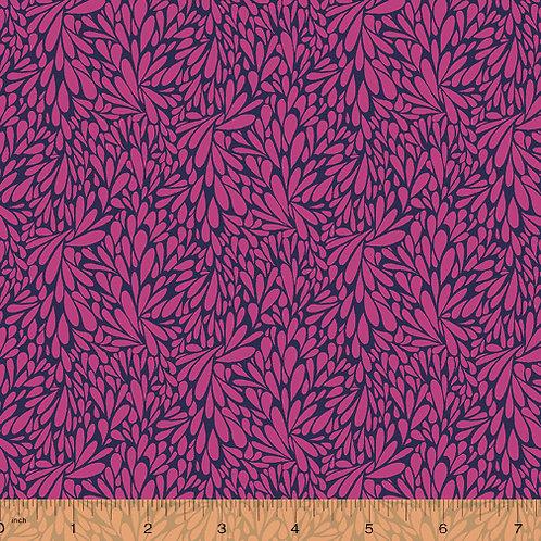 Solstice - Leafy Fuchsia $30 pm