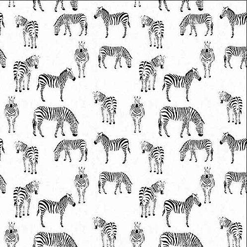 Zebras on White $28 pm