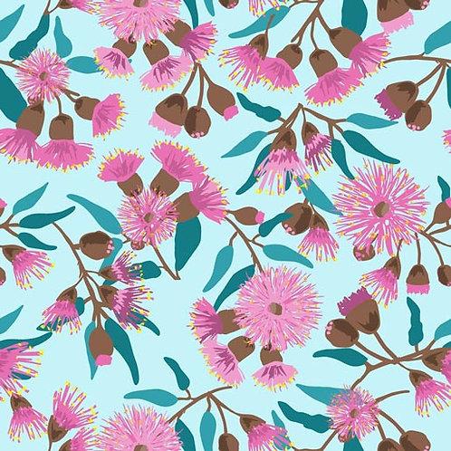 Sweet Botanicals - Pink Wattle Light Blue $28 pm