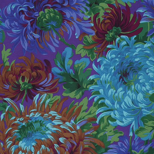 Kaffe Fassett Collective - Shaggy Blue  $30 pm