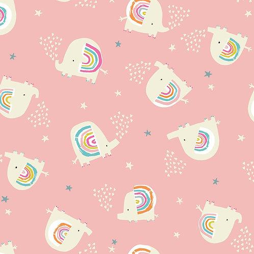 Rainbow Friends - Elephants Pink $30 pm
