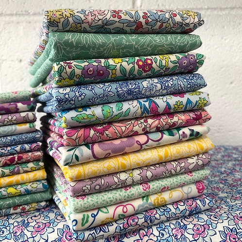 Liberty Quilting Weight Cotton 12 x Fat Quarter Bundle