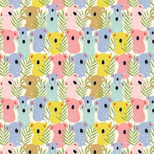 Tree Huggers - Koalas Pastel $28 pm