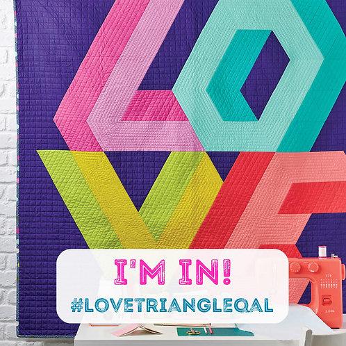 LOVE Quilt Sew-Along Kit