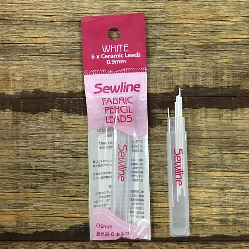 Sewline Fabric Pencil Lead Refills - White