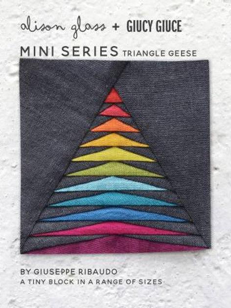 Mini Series Triangle Geese Pattern