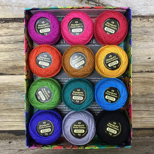 Alison Glass Perle 8 Threads - Fauna
