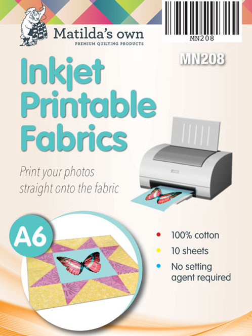 Inkjet Printable Fabric A6