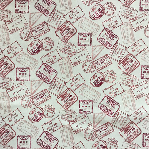 American County Postage Stamps - Red$14 pm