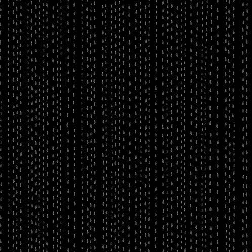 Century Black on Black - Rain Drops  $28 pm