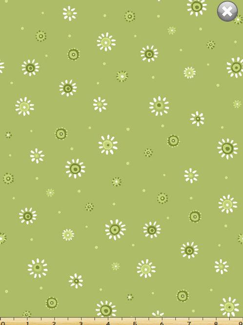 Susybee Basics - Sunburst Dots Green  $28 pm