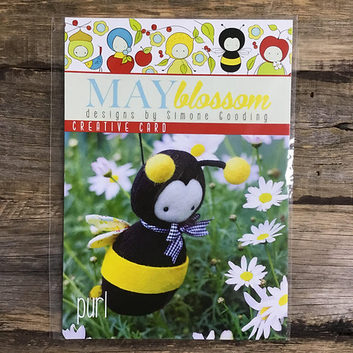 Purl the Bumble Bee Pattern
