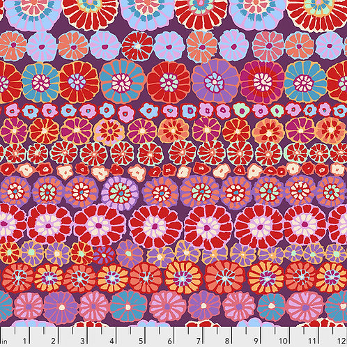 Kaffe Fassett Fall 2018 - Row Flowers Red $28 p
