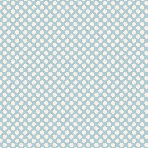 Tilda Classic Basics - Paint Dots Light Blue $30 pm