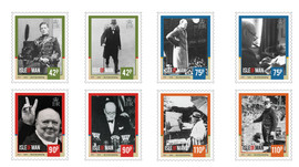Winston Churchill Stamp Collection