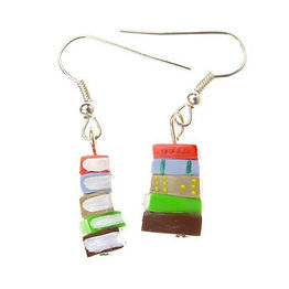 orange-and-brown-stack-of-books-earrings