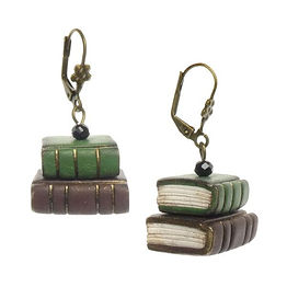Tiny_Book_Earrings_-_Green_Brown_A_800x.