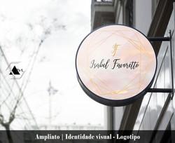 Logotipo Isabel Favoretto