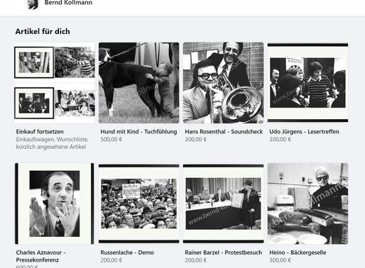 Der Bernd-Kollmann-Shop jetzt auch auf Facebook und Instagram