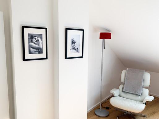 Penthaus-Wohnung mit Fotos von Bernd Kollmann als Einrichtung...