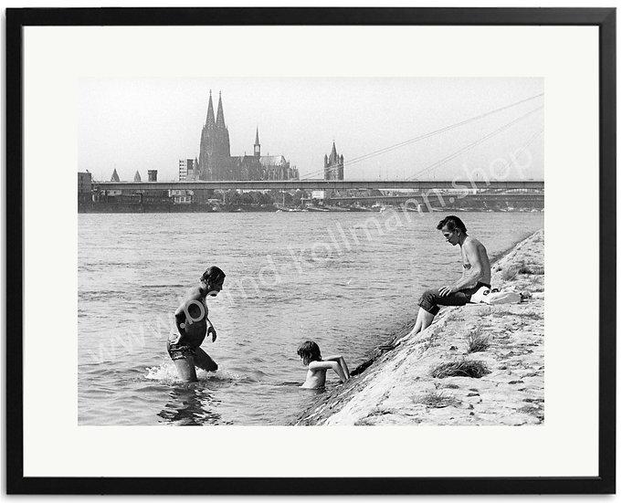 Kölner Badewanne - Rheinschwimmer