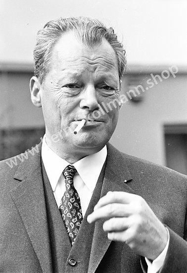 Willy Brandt - Raucherpause