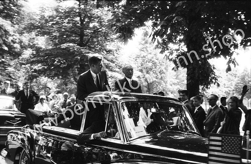 John F. Kennedy - Cabriofahrt