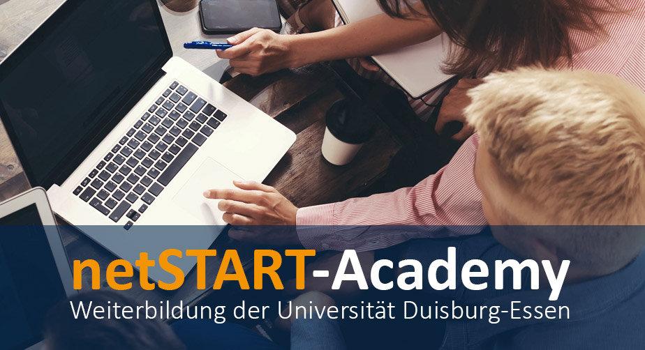 netSTART-Academy: Das Aus- und Weiterbildungssystem für das Digitale Zeitalter