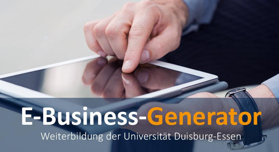 E-Business-Generator: Der Workshop für Geschäftsmodelle in der Digitalen Wirtschaft