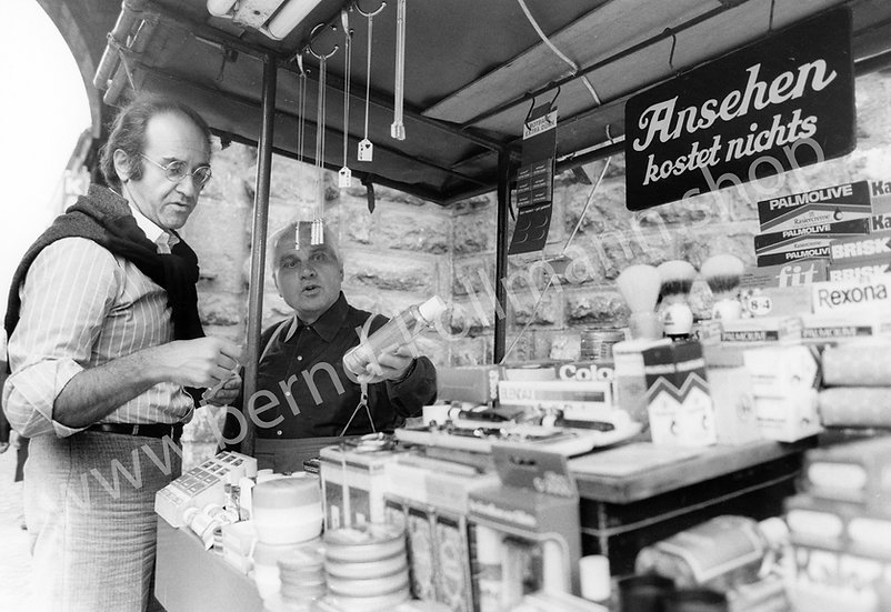 Alfred Biolek - Marktbesuch