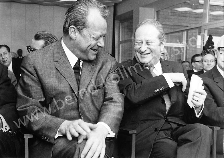Willy Brandt - Scherzbold